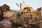 지진으로 피해를 입은 네팔 현지 모습
