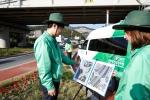 도로교통공단이 공군부대 내 도로교통안전시설 점검을 실시한다