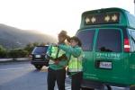 도로교통공단이 공군부대 내 도로교통안전시설 점검을 실시한다 (사진제공: 도로교통공단)