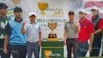 대회 역사상 아시아 최초로 오는 10월 한국에서 개최되는 프레지던츠컵의 우승 트로피가 GS 칼텍스 매경오픈이 열린 남서울 CC에서 국내 골프팬들을 찾았다.