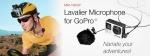 MXL 전문가용 고프로 마이크 MM-165GP lavalier. FUR 는 탈부착이 가능하다