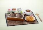하루엔소쿠에서 이번에 새롭게 맛을 업그레이드해 선보인 판모밀