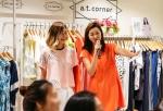 앳코너 명동점에서 결혼을 한 주 앞둔 예비신부 장윤주의 스타일링 클래스가 열렸다.