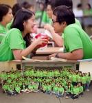 생명을 사랑하는 신혼부부학교에 참가한 신혼부부 참가자의 모습