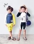 알로봇이 다가오는 바캉스 시즌을 앞두고 키즈 수영복 시리즈를 새롭게 출시했다