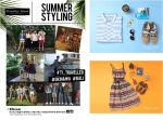 써스데이 아일랜드와 ESteem 모델들이 함께하는 여름 여행 스타일링 이벤트가 화제다.