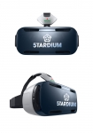 하이네켄 스타디움 체험이 가능한 가상현실 기기 삼성 기어 VR