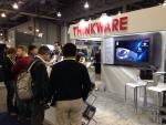 팅크웨어가 글로벌 블랙박스 브랜드 THINKWARE DASH CAM 2015 CES 참여했다.