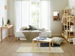 한샘 아임매트 일체형 침대 화이트