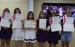 용인송담대학교 뷰티케어과 학생들이 제8회 메이크업 페스티벌 어워드에서 국회의원상과 경기도지사상을 수상했다