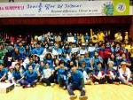 일산다문화교육센터 소속 다문화인들(약 120명 참석)이 세계인의 날 체육대회에서 최우수상을 수여했다.