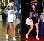 걸그룹 씨스타 다솜 효린의 여름 패션이 화제다
