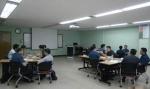 하경호 강사가 코오롱 인더스트리에서 핵심관리자 100여명을 대상으로 조직 내 소통과 함께 미래를 창조하는 Creative leadership 강의를 진행했다