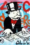 올해 처음 선보이는 매직 비치 스테이지에서 라이브로 퍼포먼스를 선보이는 그래피티 아티스트 알렉 모노폴리는 턱시도와 중절모를 쓴 그의 캐릭터 모노폴리 맨(Monopoly Man)으로 잘 알려져 있다.
