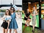 패션 프로그램인 K-STYLE의 두 MC 모델 아이린과 미쓰에이 민의 패션이 화제 되고있다.