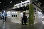 국제 LED & OLED EXPO 참가중인 쏠라사이언스 부스