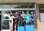 퐁당닷컴이 대학스쿠버동아리에 슈트를 기증했다