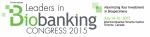 바이오뱅크 리더 콩그레스가 2015년 7월 14일부터 16일까지 캐나다 토론토에서 개최된다