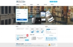 글로벌와이파이의 리뉴얼 홈페이지 메인 화면