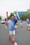호원대 강희성 총장이 제28회 광주하계유니버시아드대회 성공기원을 위한 성화봉송행사에 참석했다.