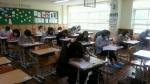 제1회 CS클레임관리사 자격시험에 수험생들이 문제를 풀고 있다