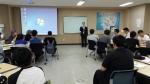 대전사회복무교육센터에서 지난 6월30일 대전광역시립체육재활원 원장인 이재화 강사는 소통과 봉사라는 주제로 강의하였다