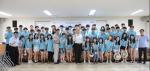 코리아텍 재학생 48명이 7월 5일~31일까지 베트남에서 IT해외봉사를 진행한다. 3일 오후 열린 발대식 장면.