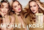 마이클 코어스가가 출시하는 스포티 시트러스, 섹시 앰버, 글램 자스민 3종 광고 이미지