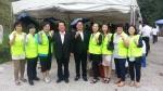 주영광교회가 지역주민 성도 위한 바자회를 열었다