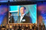 정보보호의날 미래부장관표창을 수상한 윤두식 대표 시상식 모습