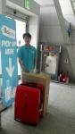 라온트래블스토리지가 도심에서 공항까지 짐 운반 서비스를 시작했다