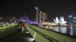 싱가포르 마리나베이샌즈호텔의 야경