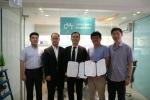 9일 오전 쯔위고우와 그린메디컬투어가 요우커 대상 O2O 서비스 개발 운영에 대한 MOU를 체결했다.