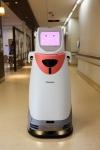 자동 운송 로봇 HOSPI는 약품, 의학검사용 시료 및 병원 내의 환자 진료 기록 등 최대 20kg의 물건을 운송한다.