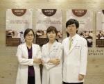 부산 아마르한의원네트워트 의료진. 오른쪽부터 신상호 원장, 윤정민 원장, 허정은 원장