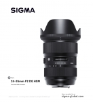 세기P&C가 시그마 글로벌 비전 Art 라인의 새로운 렌즈 A 24-35mm F2 DG HSM의 런칭판매를 진행한다