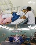 함께하는 사랑밭이 몽골 동상 환아를 한국으로 초청해 수술을 지원했다