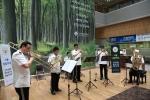 건국대병원이 메르스를 극복하고 다시 한 번 힘차게 도약하겠다는 의미를 담아 서울경찰악대와 특별한 음악회를 개최했다