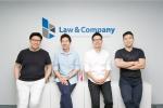 로앤컴퍼니 공동창업자, 좌측부터 이휘진 이사, 정재성 이사, 여인한 이사, 김본환 대표