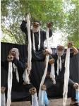 라오스 극단카오냐오의 놀이극 코끼리의 노래 (사진제공: 극단갯돌)
