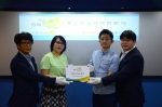 송파마을공동체가 재능나눔센터 현판식을  드림코워킹스페이스에서 개최했다