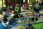 2014년 제6회 자원순환의 날 그림그리기 대회 진행 모습