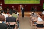 대구광역시청 대회의실에서 나눔문화진흥회와 아젠다21이 상호 협력을 체결하며 문화봉사단 발대식을 개최하였다.