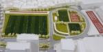 건국대학교는 대운동장 스탠드를 철거하고 잔디를 깔아 각종 스포츠 시설이 자리 잡은 2만4,750m2의 체육광장으로 조성한다.
