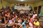 월드쉐어가 지난 8월 초 연예인 홍보대사 및 MBC 나누면 행복 프로그램과 함께 필리핀 해외봉사를 진행했다