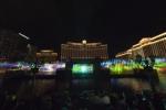 파나소닉 프로젝터, 세계 최대의 워터 스크린 프로젝션에 생명을 불어넣다