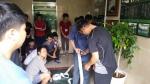 부산사회복무교육센터가 직무교육 통한 소방교육을 실시했다
