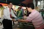 교직원공제회가 전통시장 살리기 캠페인을 실시했다