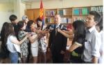 국립재활원장 몽골 언론 기자회견
