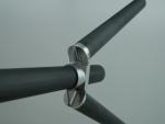 POLYMETAC™ 기술-2 을 사용한 CFRP 와 알루미늄 조인트 부품